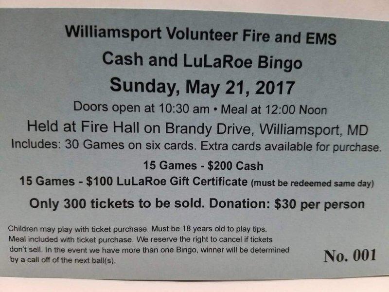 LulaRoe & Cash Bingo